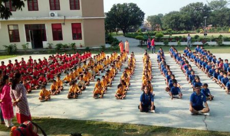 Yoga @ Hayde Heritage Academy